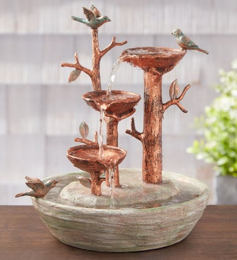 Bird Nest Water Fountain