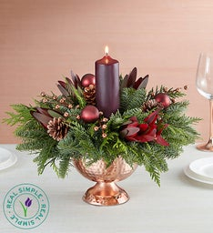 Enchanting Evergreens Centerpiece by Real Simple®