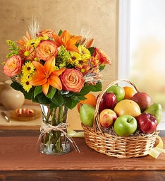Fanciful Fall Floral & Fruit Bundle™