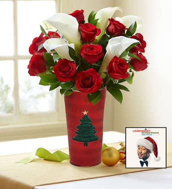 John Legend Holiday Album  Red Rose  Calla