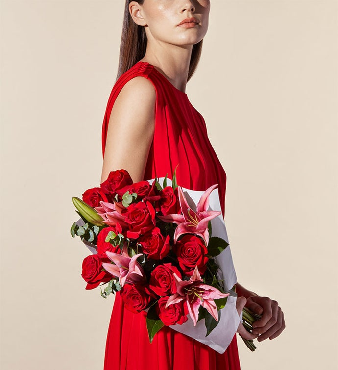Silken Roses Bouquet by Jason Wu for Wild Beauty