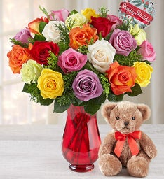 Assorted Roses, Buy 12, Get 12 Free for $29.99