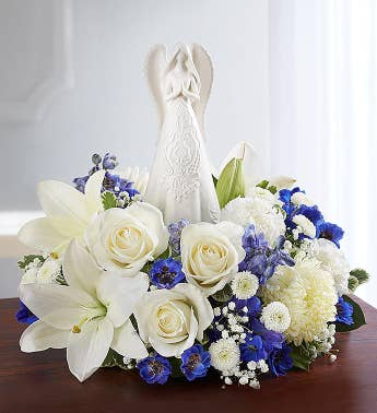 Peaceful Prayers™ Serenity Angel Arrangement