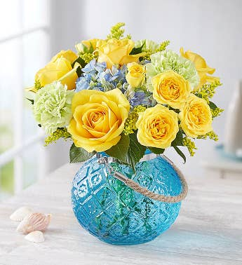 Yellow roses yellow rose bouquets delivery 1800flowers coastal garden mightylinksfo