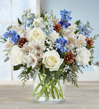 christmas flowers christmas floral arrangement delivery 1800flowers