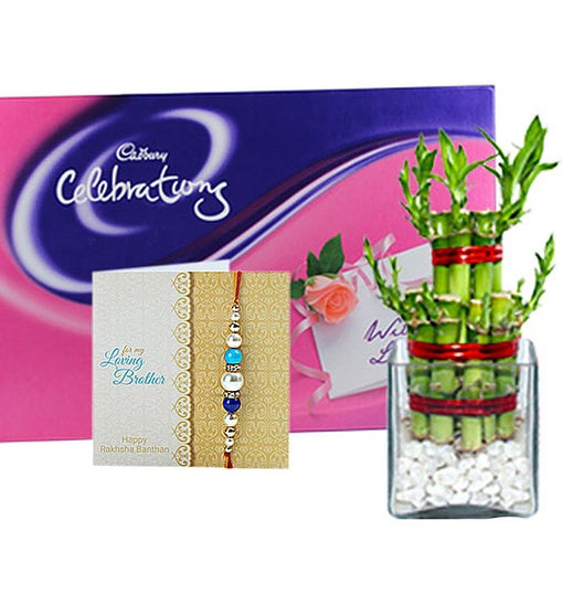 Rakhi Chocolaty Good Luck