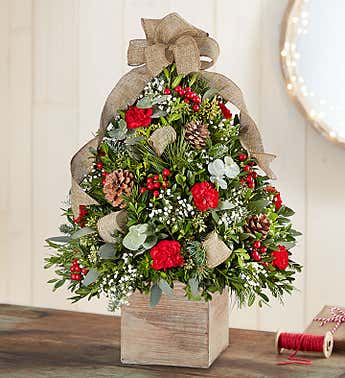 Cozy Cabin™ Holiday Flower Tree®