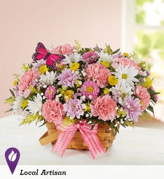 Blossoming Blooms Basket
