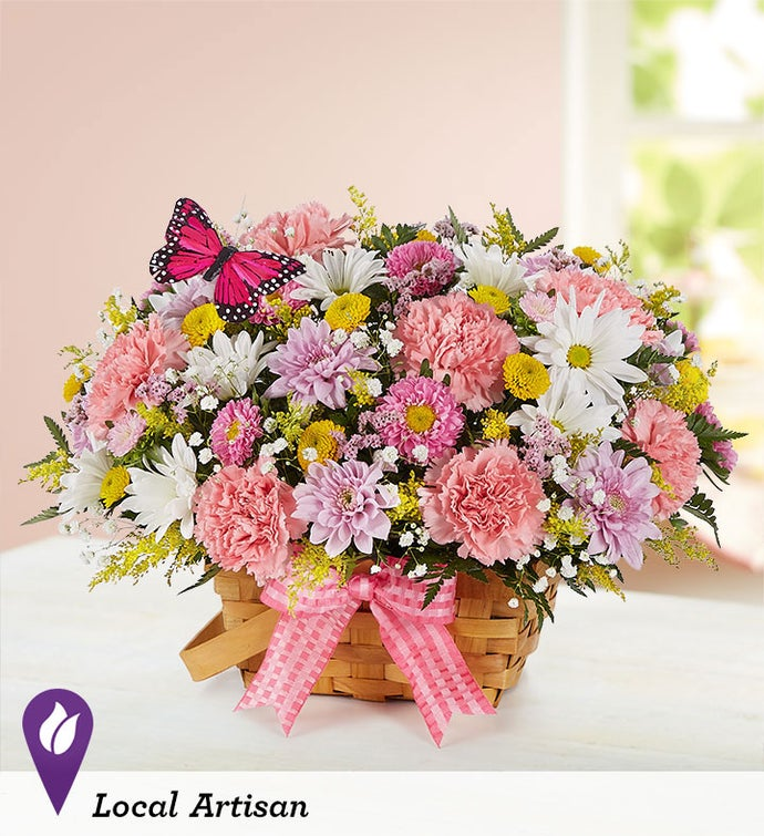 Blossoming Blooms™ Basket