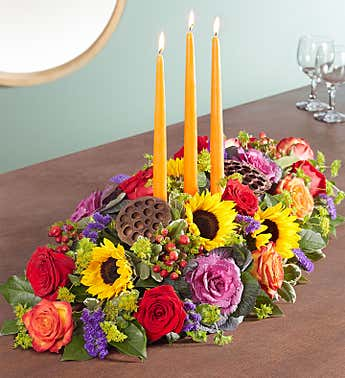 Garden Of Grandeur® For Fall Centerpiece