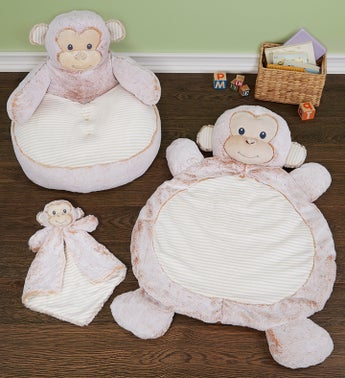 Marlow Monkey Baby Gift Set- Mat Luvster  Chair