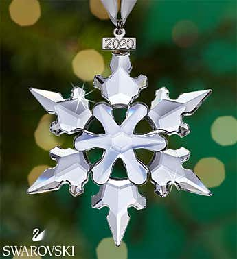 Swarovski ® Sparkling Star 2020 Ornament