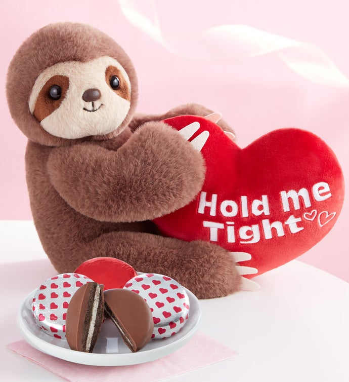 Hold Me Tight Sloth with Cookies