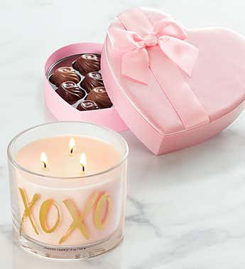 Hugs and Kisses by Yankee Candle ®  with Chocolate