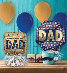 Father's Day Balloon Party Kit