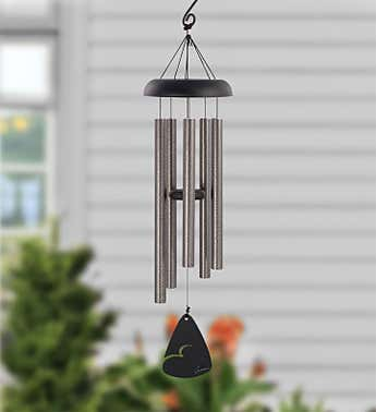 Pewter Fleck Windchime -30""