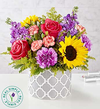 Vibrant Sensation™ Bouquet by Real Simple®