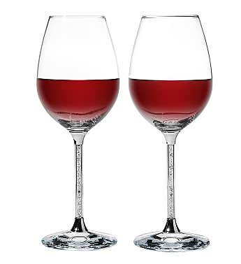 Crystal Wine Glasses Set 18.5 oz