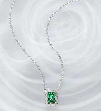 Swarovski ® Angelic Green Necklace