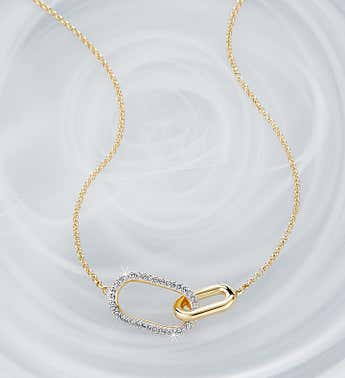 Swarovski ® Time Necklace