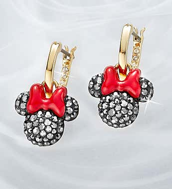 Swarovski ® Mickey and Minnie Earrings
