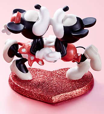 When My Heart Found You Mickey and Minnie Figurine