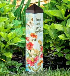 I Love That You're My Mom Garden Art Pole™
