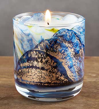 Northern Lights  Meditation Candles