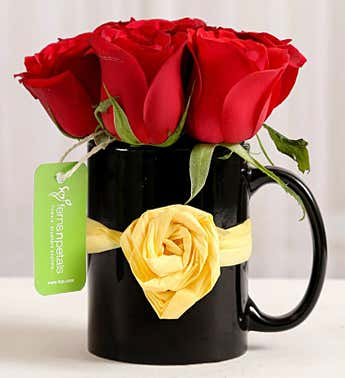 Rose Arrangement in Mug