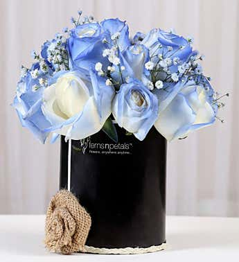 Blue Rose Arrangement