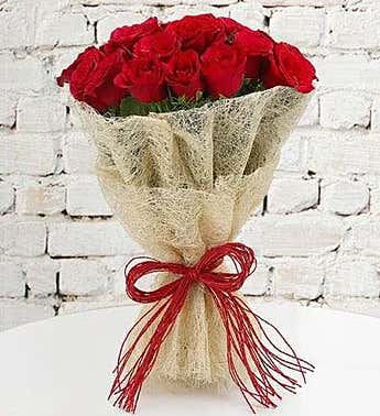 Long Stem Red Roses, 30 Stems