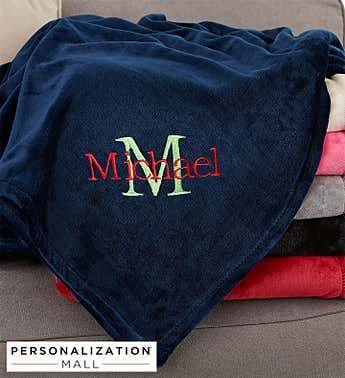 Personalized All About Me Fleece Blanket