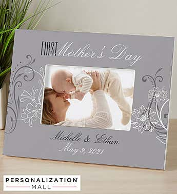Personalized First Mother's Day Photo Frame