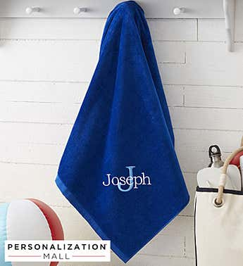 Personalized All About Me Beach Towel