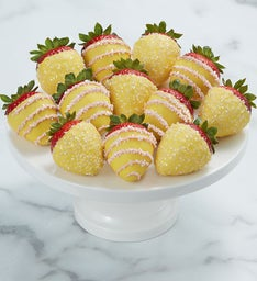 Pink Lemonade Dipped Strawberries