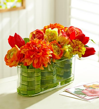 Bright Silk Flowers for Spring