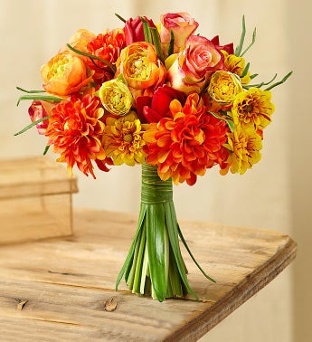 Bright Silk Mixed Bouquet