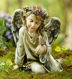 Angel with Bird 10