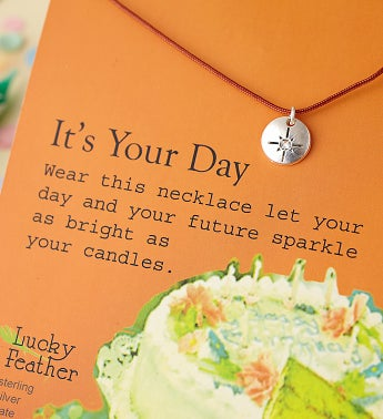 It's Your Birthday Necklace