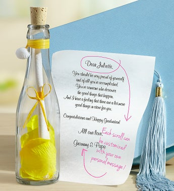 Personalized Message in a Bottle® Graduation