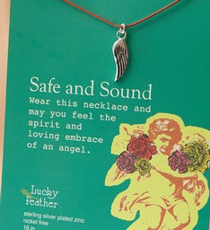 Safe and Sound Inspiration Necklace