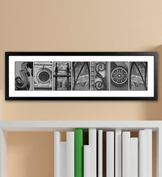 Personalized Architectural Name Print
