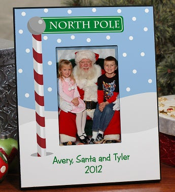 Personalized Holiday Frame