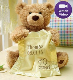Personalized Peek A Boo Bear