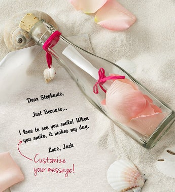Message in a Bottle® Breast Cancer Awareness