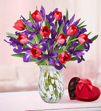 Bunches of Love Tulip & Iris: Save 25%
