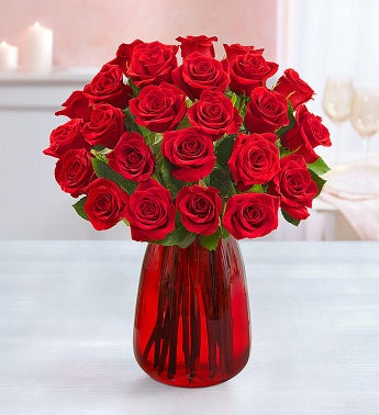 Two Dozen Red Roses, Buy 12, Get 12 Free