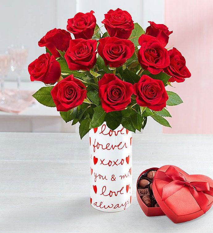 Großartig One Dozen Romantic Red Roses