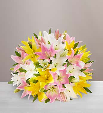 Sweet Spring Lily Bouquet