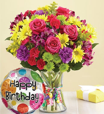 Its Your Day Bouquet Happy Birthday